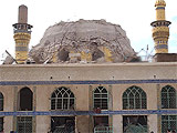 golden dome iraq damage